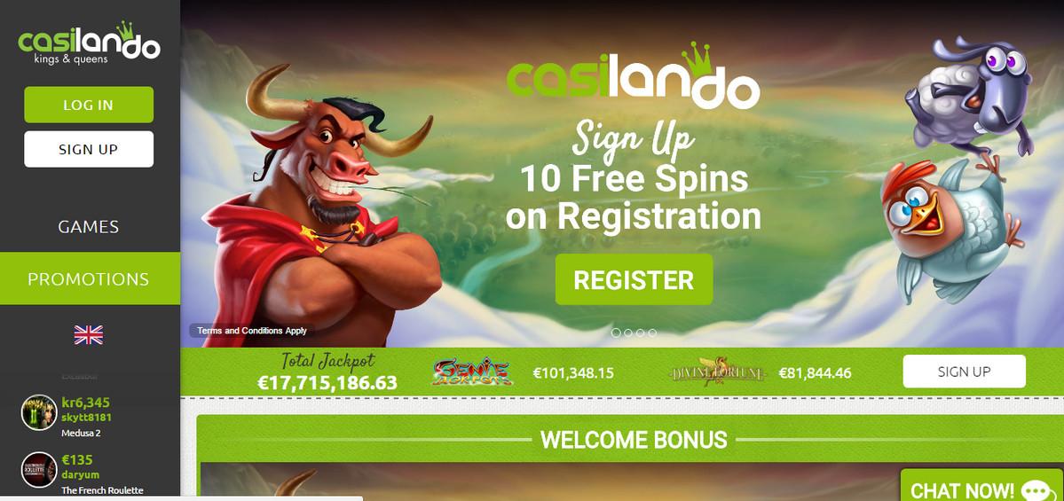 Casino 10 free no deposit